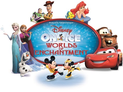 Disney On Ice: Worlds of Enchantment at Golden 1 Center