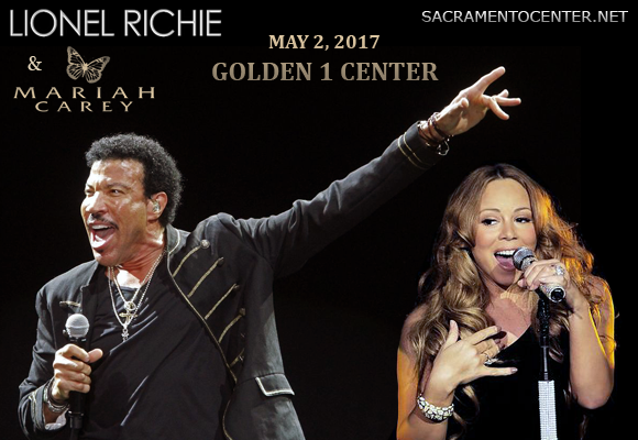 Lionel Richie & Mariah Carey at Golden 1 Center