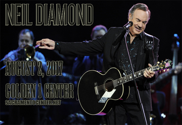 Neil Diamond at Golden 1 Center