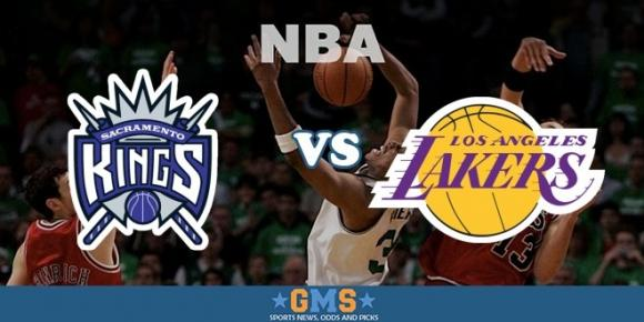 Sacramento Kings vs. Los Angeles Lakers at Golden 1 Center