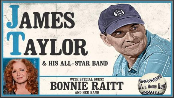 James Taylor and His All Star Band & Bonnie Raitt at Golden 1 Center