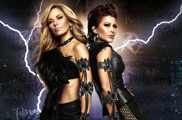 Gloria Trevi & Alejandra Guzman at Golden 1 Center
