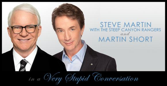 Steve Martin and Martin Short at Golden 1 Center