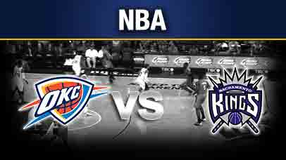 Sacramento Kings vs. Oklahoma City Thunder at Golden 1 Center