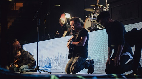 Chris Tomlin at Golden 1 Center