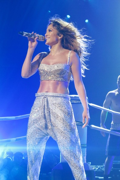 Jennifer Lopez at Golden 1 Center