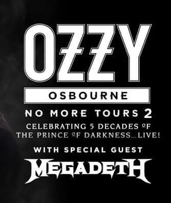 Ozzy Osbourne & Megadeth at Golden 1 Center