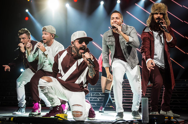 Backstreet Boys at Golden 1 Center