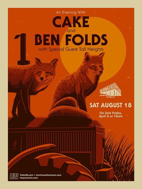 Ben Folds & Cake at Golden 1 Center