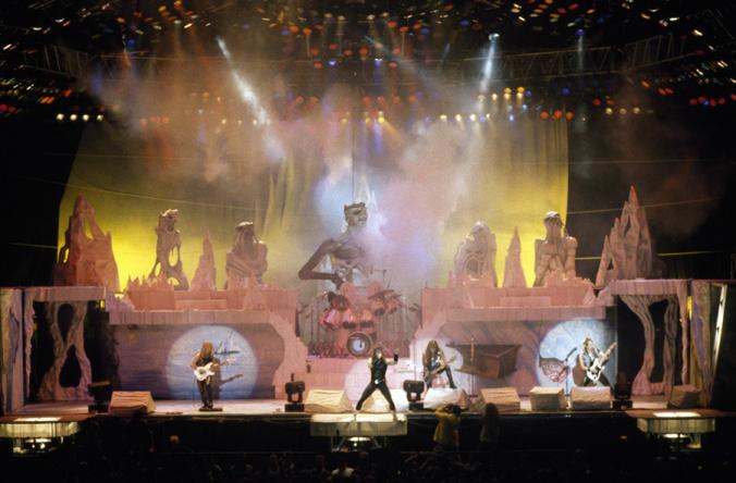 Iron Maiden at Golden 1 Center