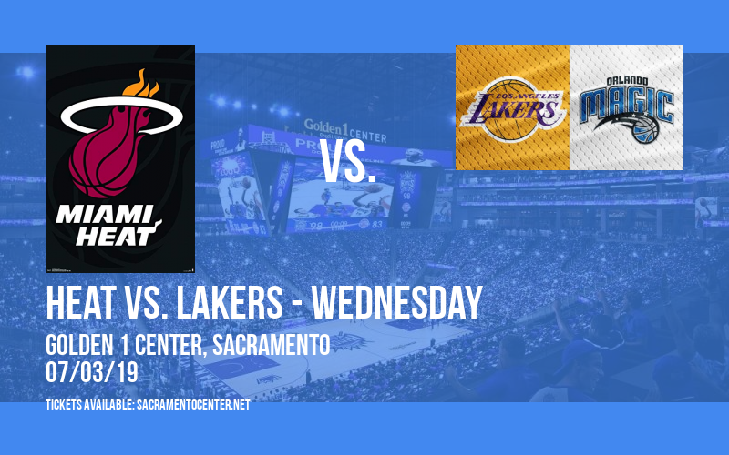 California Classic: Heat vs. Warriors & Kings vs. Lakers - Wednesday at Golden 1 Center