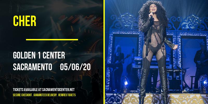 Cher at Golden 1 Center