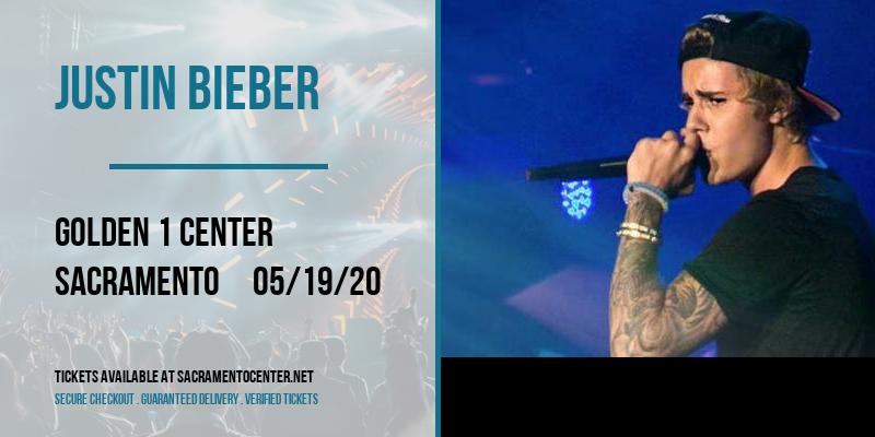 Justin Bieber [POSTPONED] at Golden 1 Center