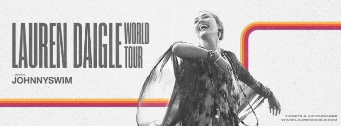 Lauren Daigle & Johnnyswim at Golden 1 Center
