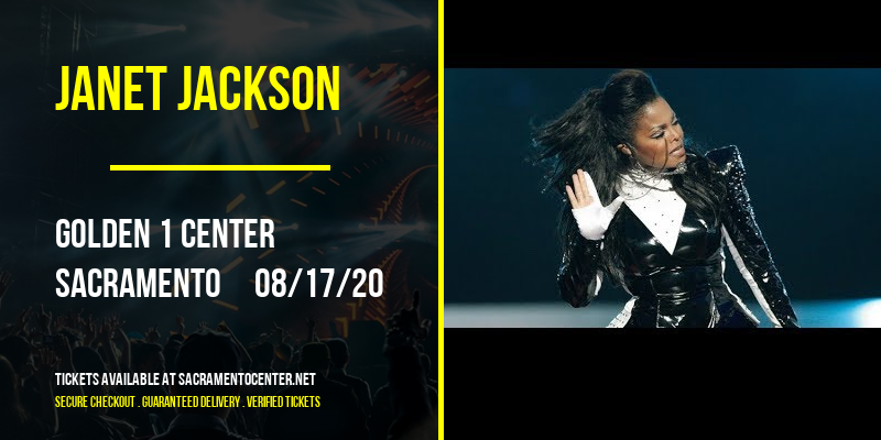Janet Jackson [CANCELLED] at Golden 1 Center