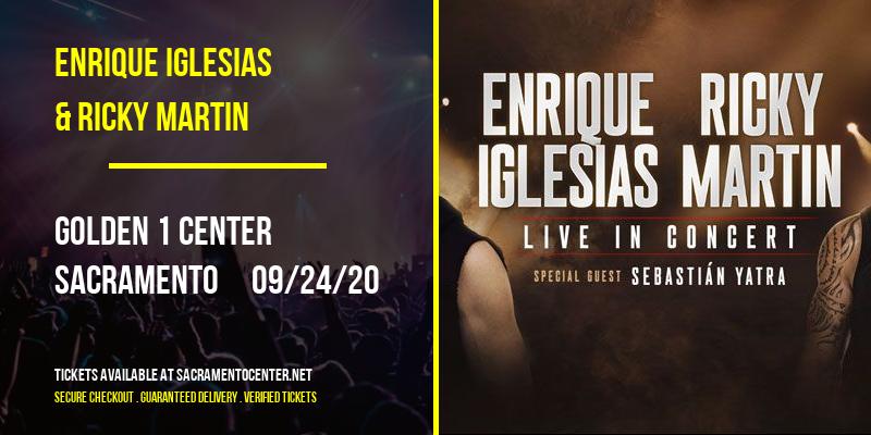 Enrique Iglesias & Ricky Martin at Golden 1 Center
