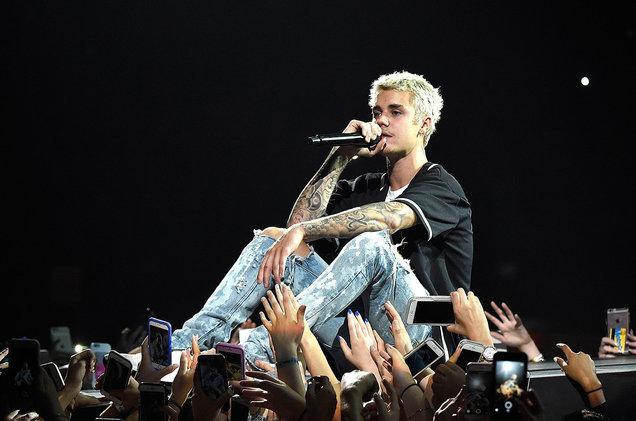 Justin Bieber at Golden 1 Center