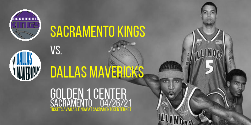 Sacramento Kings vs. Dallas Mavericks [CANCELLED] at Golden 1 Center