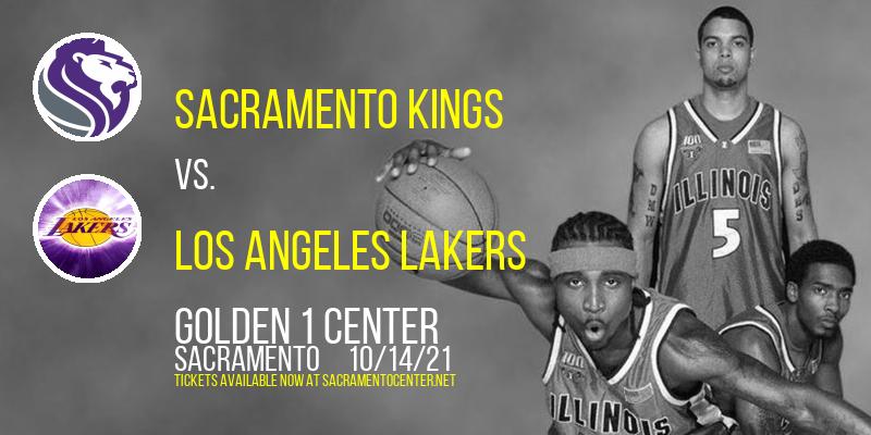NBA Preseason: Sacramento Kings vs. Los Angeles Lakers at Golden 1 Center