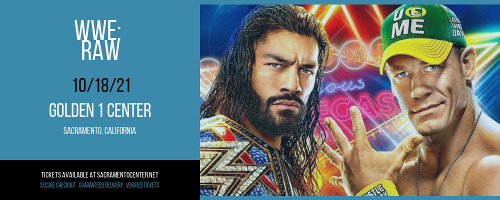 WWE: Raw at Golden 1 Center