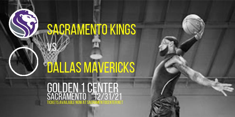 Sacramento Kings vs. Dallas Mavericks at Golden 1 Center