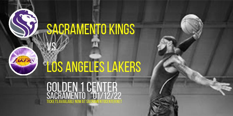 Sacramento Kings vs. Los Angeles Lakers at Golden 1 Center