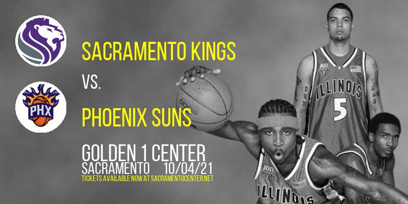 NBA Preseason: Sacramento Kings vs. Phoenix Suns at Golden 1 Center