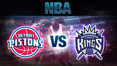 Sacramento Kings vs. Detroit Pistons at Golden 1 Center