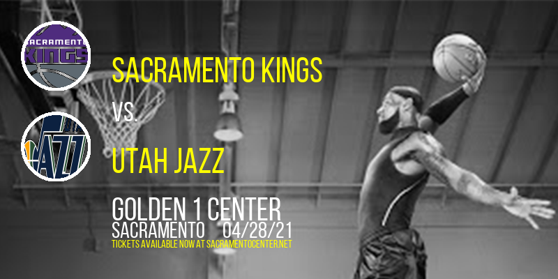 Sacramento Kings vs. Utah Jazz [CANCELLED] at Golden 1 Center