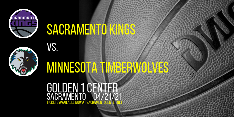 Sacramento Kings vs. Minnesota Timberwolves [CANCELLED] at Golden 1 Center